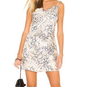 J.O.A. Cowl Neck Mini Dress